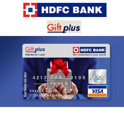HDFC GIFT PLUS CARD WORTH RS.2,000/-