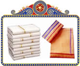 Send Special Retirement Gifts to India and andhrapradesh Special Dhoti sets
