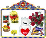 Send Special Retirement Gifts to India and andhrapradesh Special combo-flowers