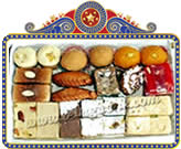 Send Special Retirement Gifts to India and andhrapradesh Special Almound House Sweets