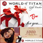 Titan Watches Gift Voucher Rs. 1,000