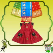 Send Ugadi Special Online Gifts to india Special Pattu Parikinis