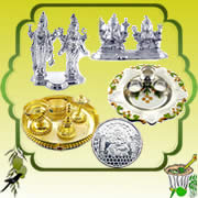 Send Ugadi Special Online Gifts to india Special Silver Store
