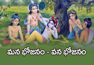మన భోజనం- వన భోజనం