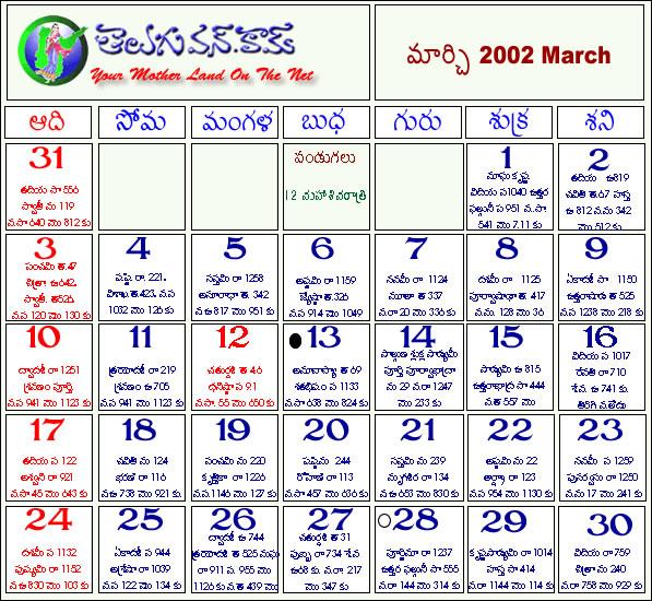 Telugu Calendar 2012 Telugu Calendar 2011 Telugu Calendar 2010