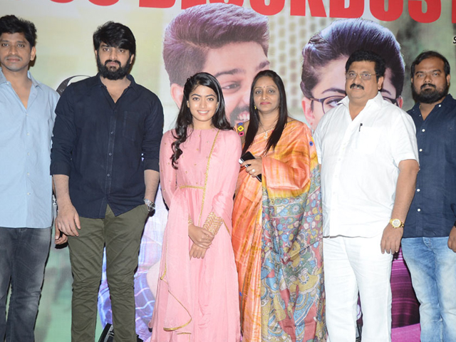 Chalo Movie Thanks Meet Photos