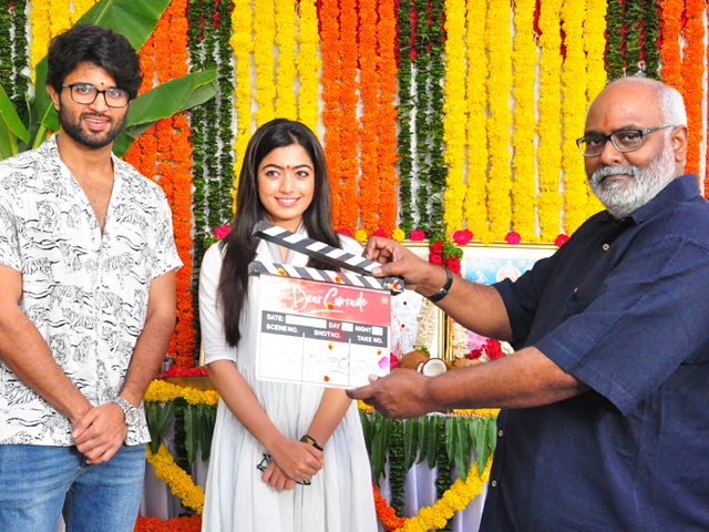 Dear Comrade Movie Opening