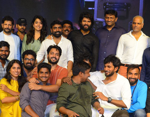 Dear Comrade Movie Pre Release Photos