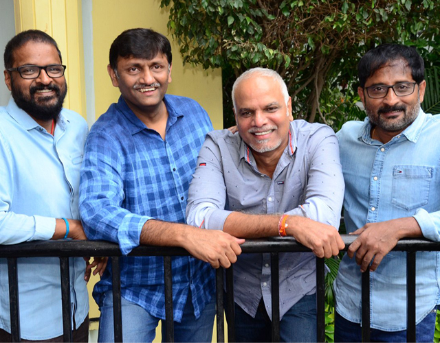 Dear Comrade Movie Producers Press Meet