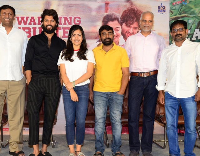 Dear Comrade Movie Success Meet