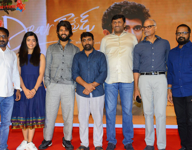 Dear Comrade Movie Trailer Launch