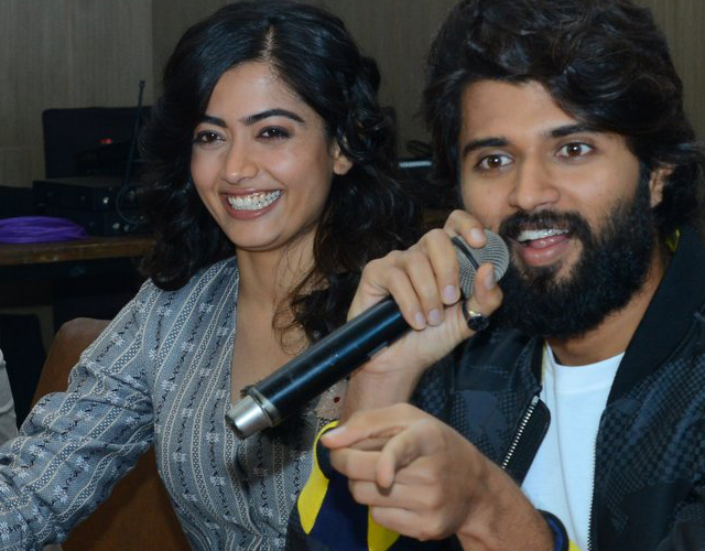 Dear Comrade Press Meet at Vizag