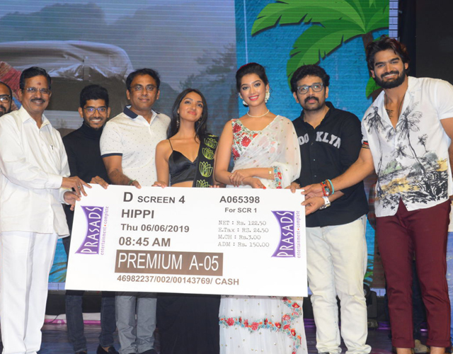 Hippi Movie Pre Release Photos