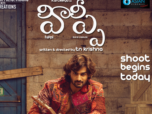 Hippi Shoot Begins Posters