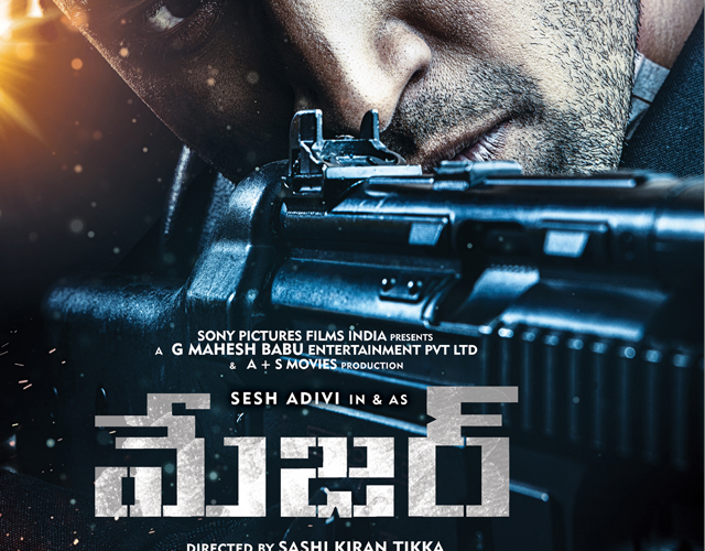 Adivi Sesh Major First Look
