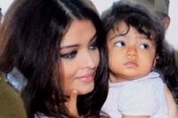 Aishwarya Rai and Aaradhya Photos
