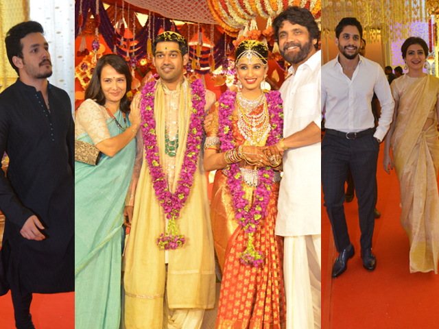 Nimmagadda Prasad Daughter Wedding Photos