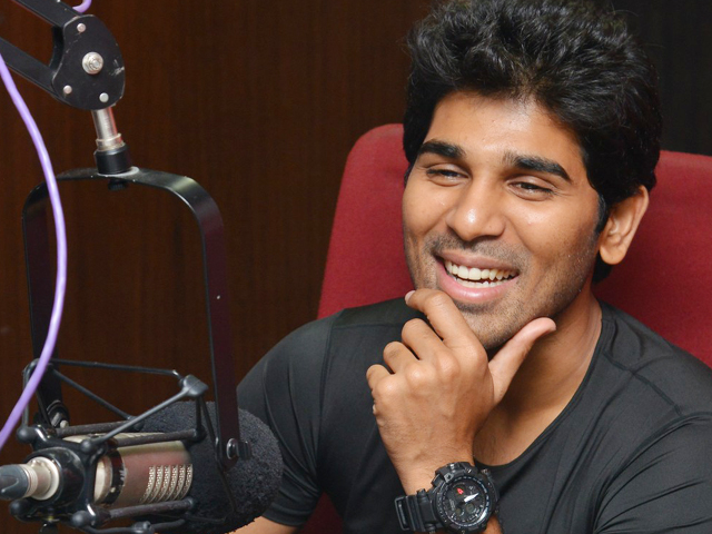 Allu Sirish Stills at Red FM