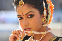 Amala Paul Traditional Black Saree