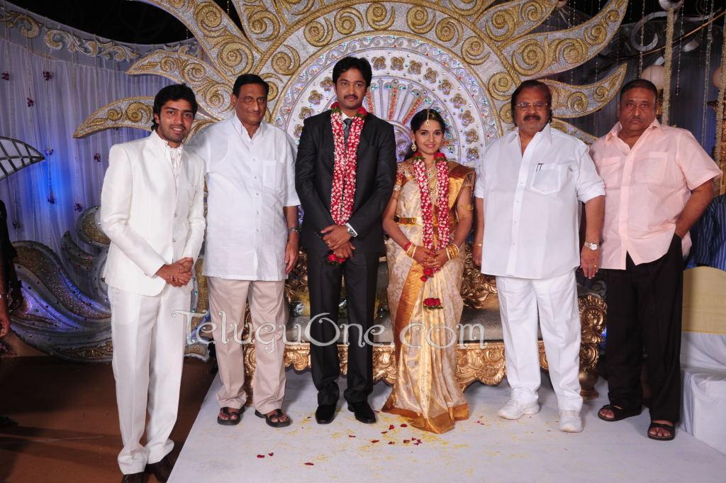 Actors >> Aryan Rajesh Reception Photos