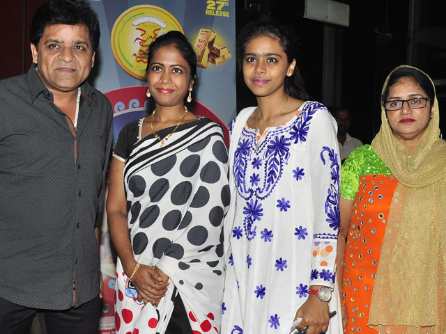 Celebs at Size Zero Special Show at PVR Cinemas