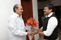 Chiru Felicition to Ramanaidu Photos