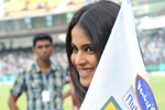 Genelia at CCL Semi Final Match