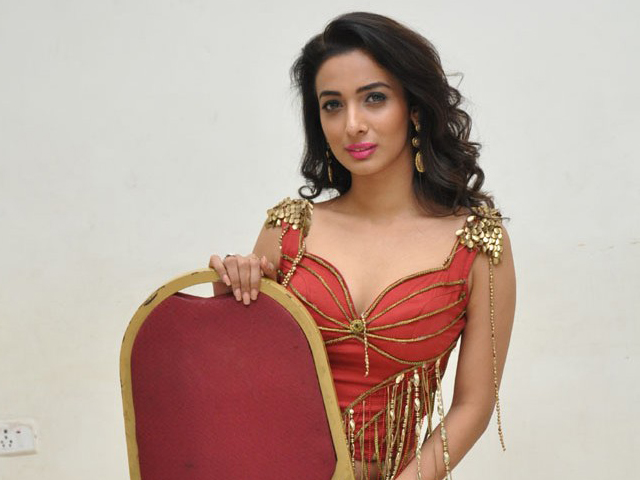 Heena Panchal Hot Red Dress Photos