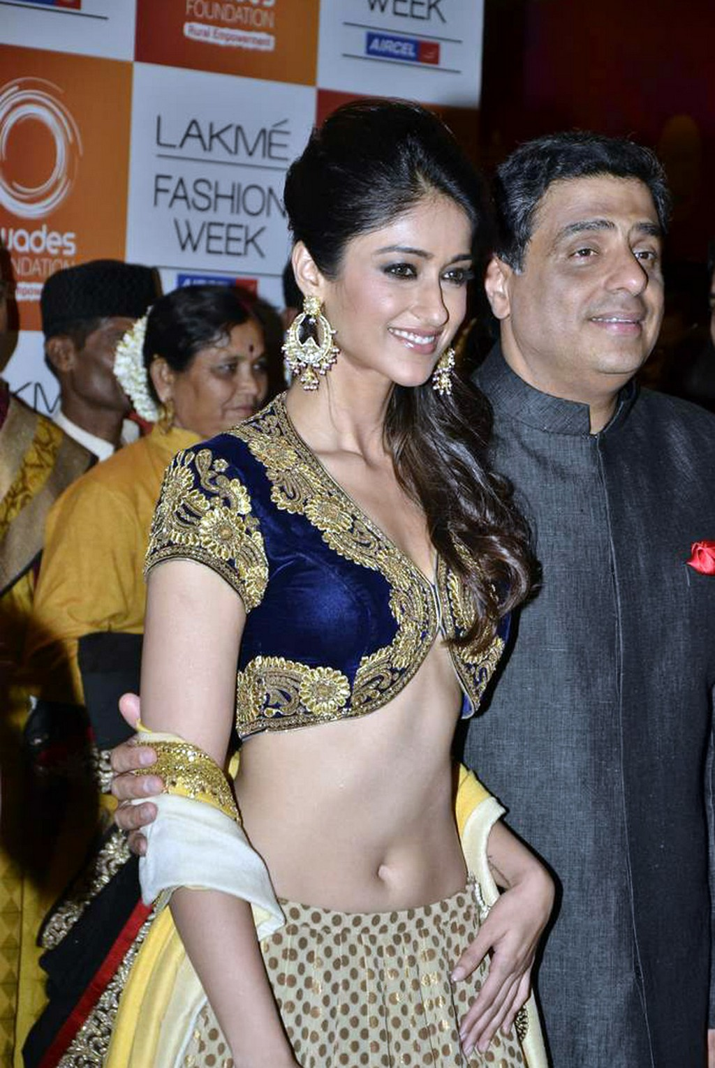 Balakrishna Daughter Tejaswini http://teluguone.com/photos/single/ileana-hot-navel-show-at-lifw-2013-4-4782-122451.html