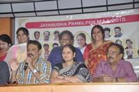 Jayasudha Panel Pressmeet for MAA Elections