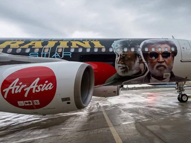 Kabali Flight Promotions Posters