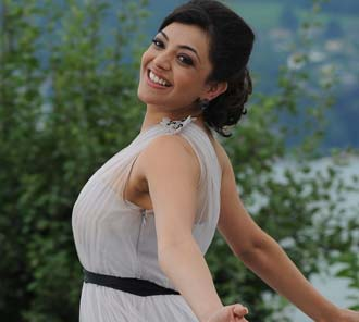 Kajal Agarwal Wet Dress Photos