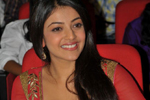 Kajal at Businessman Audio Launch