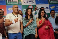 Kajal Agarwal at 92.7 Big FM Green Ganesha Launch