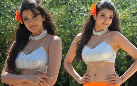 Kajal Hot Photos in BM