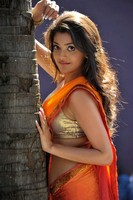 Kajal Hot Saree Photos