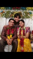 Krishna Chaitanya and Mrudula Engagement Photos