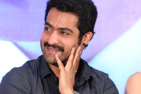 NTR Stills at Baadshah Success Meet