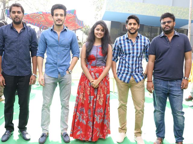 Naga Chaitanya and Chandu Mondeti Movie Events