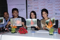 Nagarjuna and Amala Launches Bindu Madhavi Fashion Calendar 2014