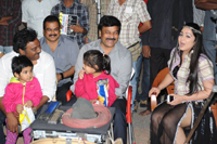 Chiranjeevi at Naayak Onlocation Stills