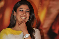 Nayanthara at KVJ Audio Launch