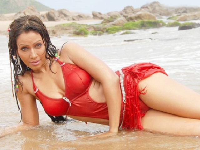 Pakhi Hegde Hot Bikini Photos