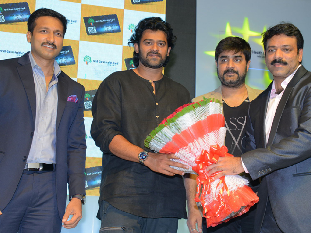 Prabhas Launch Well Care Health Card