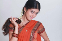 Pranitha Half Saree Photos