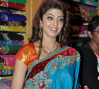 Pranitha Saree Gallery