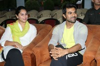 Ram Charan and Upasana at 5k Run