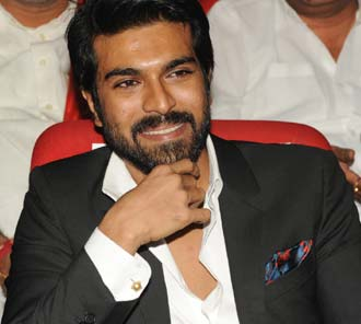 Ram Charan Teja at Toofan Audio Function