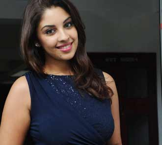 Richa Gangopadhyay at Bhai Audio Release