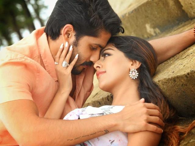 Sailaja Reddy Alludu Song Shoot Stills